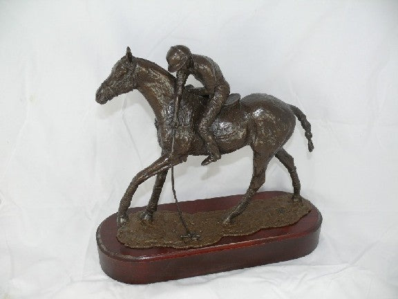 Mary Pinsent - Polo Player Statue