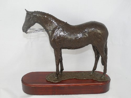 Mary Pinsent - Riding Pony Standing Statue