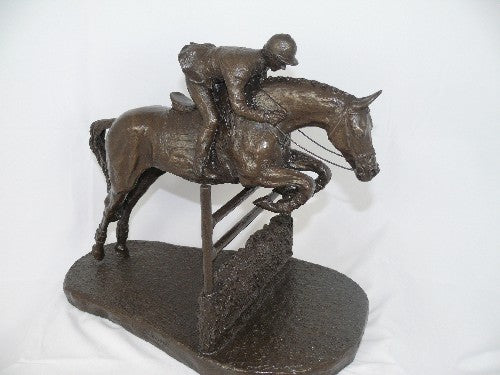 Mary Pinsent - Show Jumper Statue