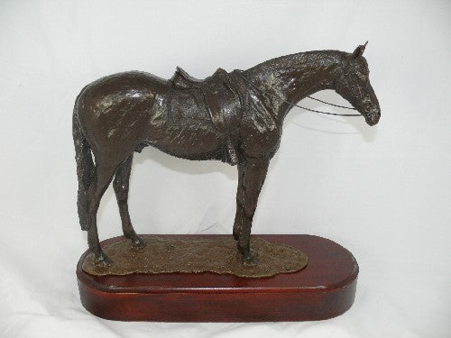 Mary Pinsent - Station Horse Standing Statue