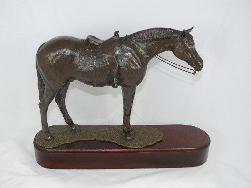 Mary Pinsent - Western Trail Statue