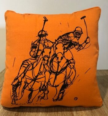 Polo Design Cushion