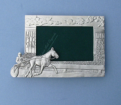 Standardbred & Driver Picture Frame