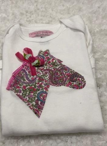 Pink Liberty Infant Body Suit