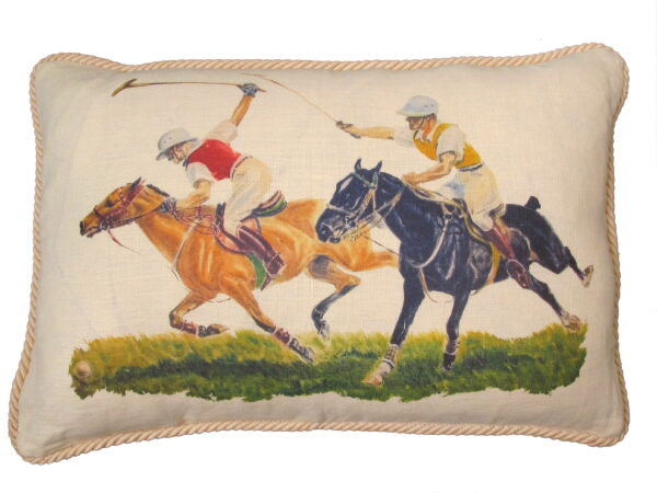 Polo Match Cushion Cover