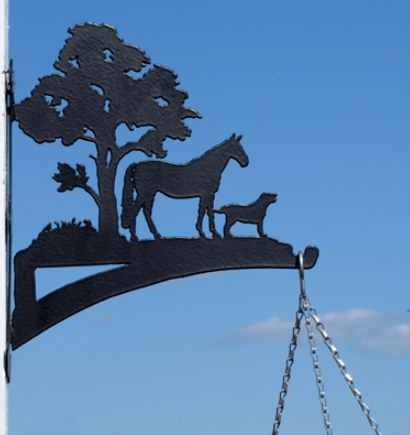 Custom Equine Hanging Brackets