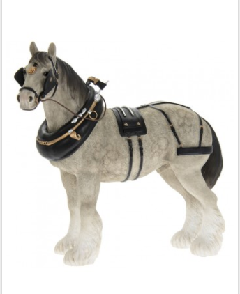 Grey Heavy Horse Horse Model