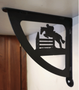 Custom Equine Shelf Brackets