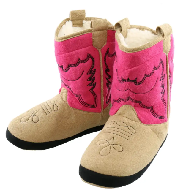 Girl Cowboy Boot Slipper