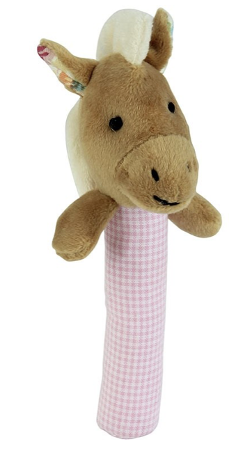 Nellie The Horse Stick Rattle