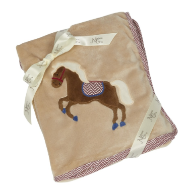 Carson The Colt Plush Blanket