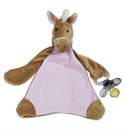 Nellie The Horse Dummy Blankie