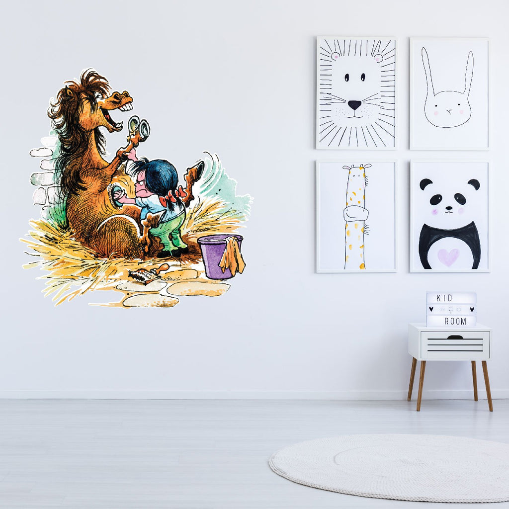 Thelwell Decal -Pony Grooming 4