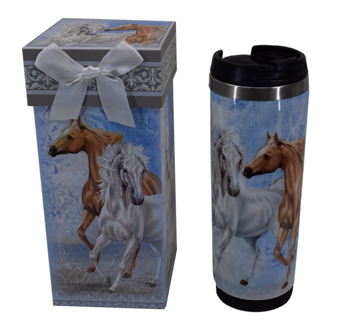 Gift Boxed Horse Travel Mug
