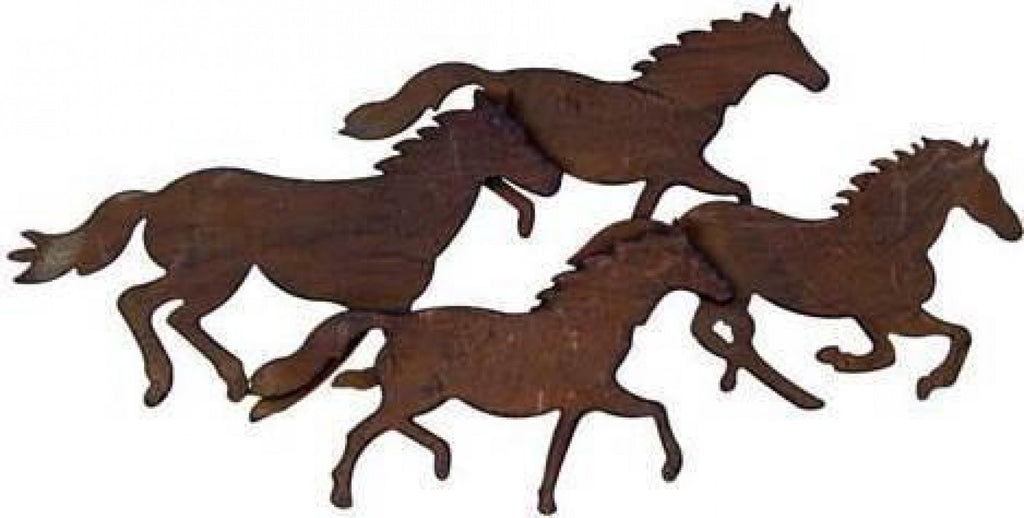 Running Horses Wall Decor