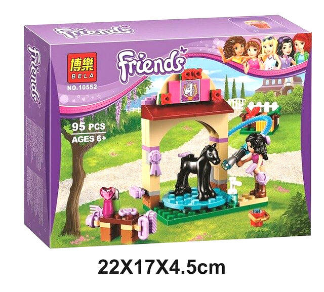Friends Horse Building Blocks