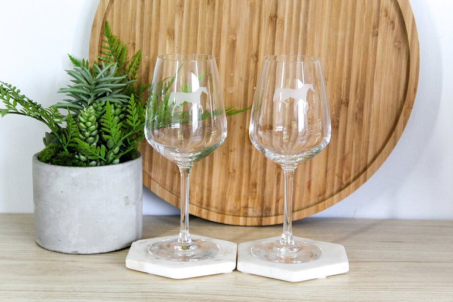 Arab  Wine Glasses