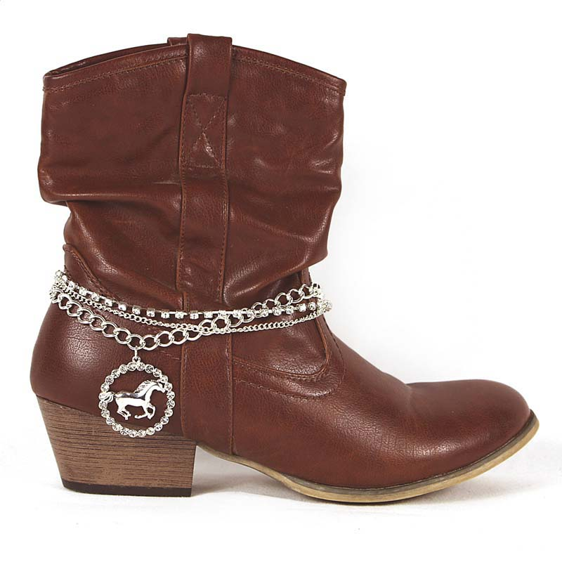 Silver Boot Chain