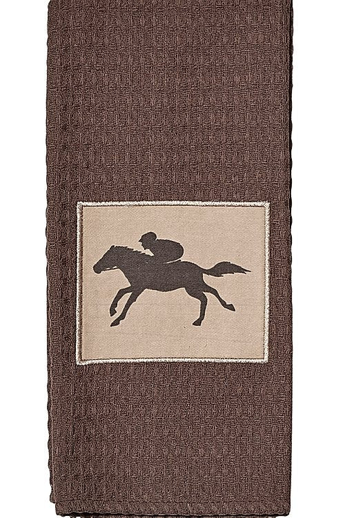 Brown Racehorse Tea Towel