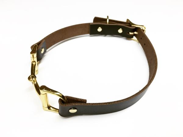 Snaffle Bit Dog Collar
