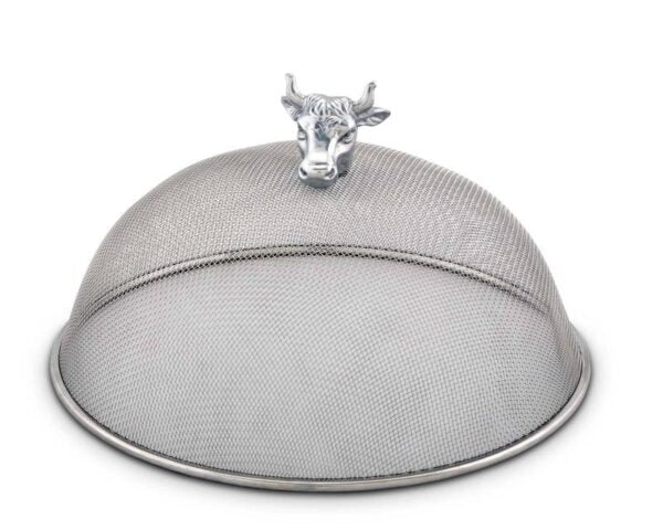 Cow Head Stainless Food Cover