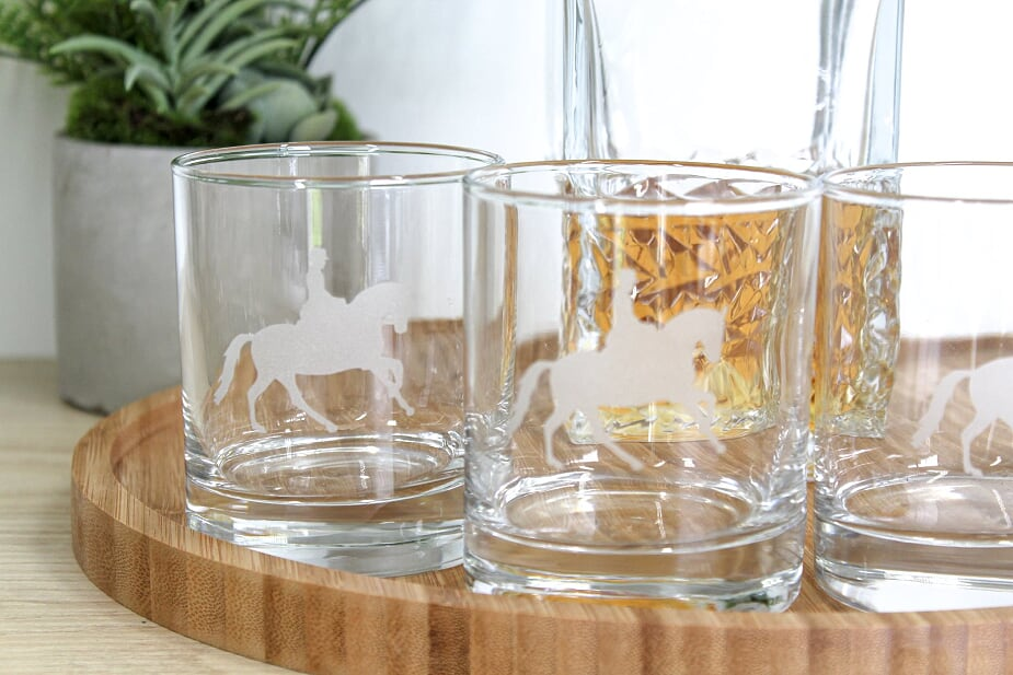 Elegance Glass Tumbler Set