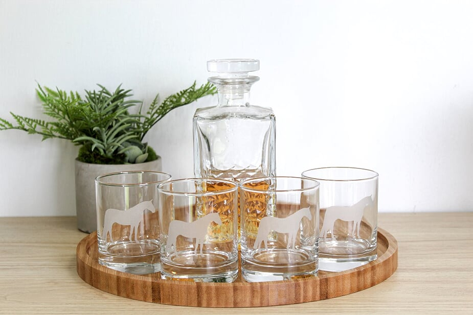 Elite Glass Tumbler Set