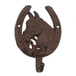 Horse Head /shoe with hook