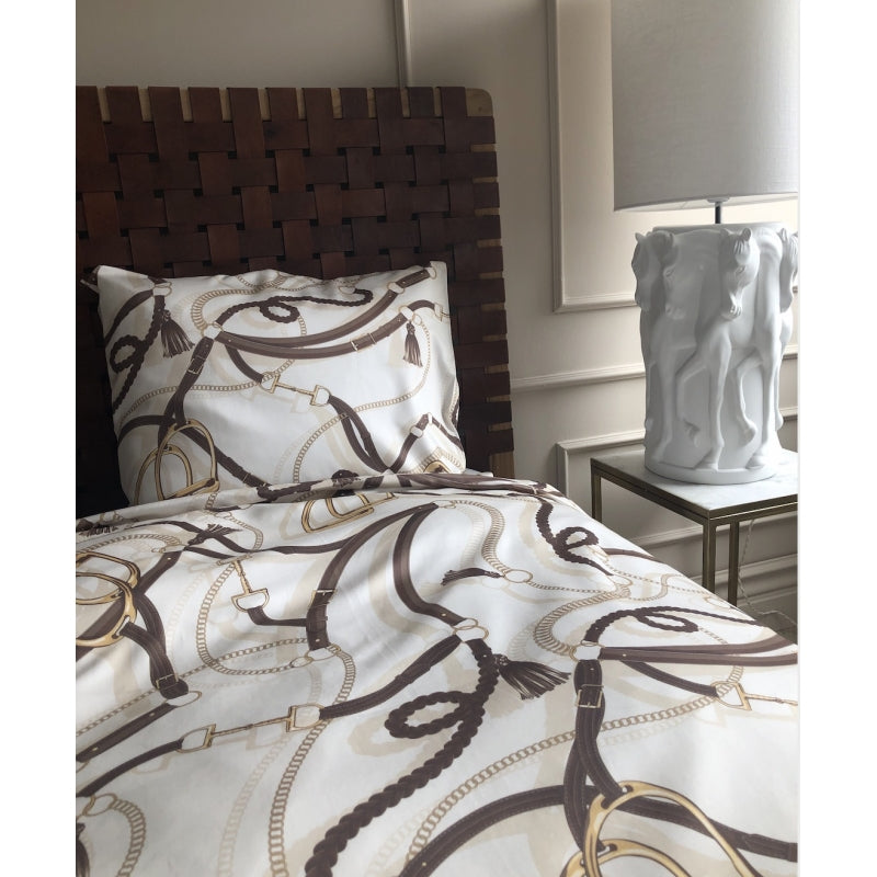 Equestrian Single Quilt Cover Set