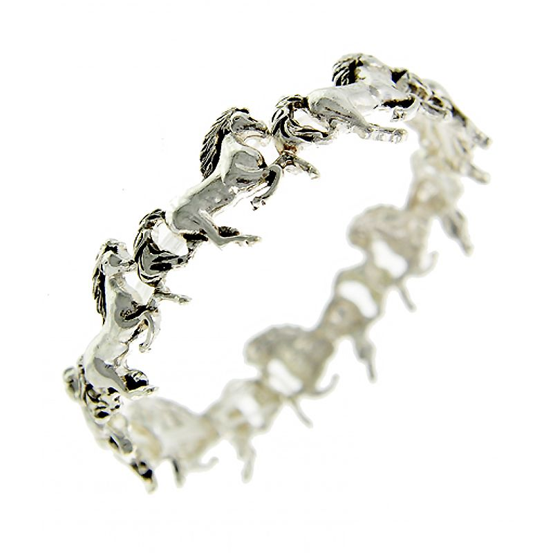 Galloping Horse Stretch Bracelet