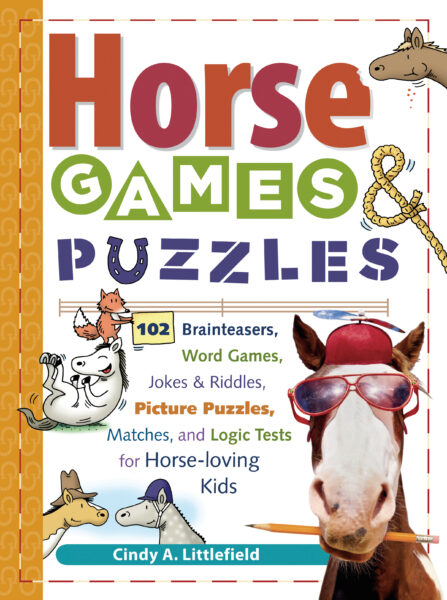 Horses Games and & Puzzles for Kids Book