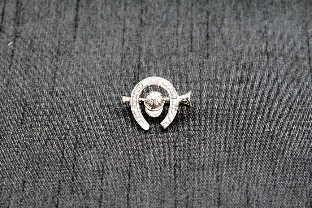 Horseshoe  Sterling Silver  Brooch