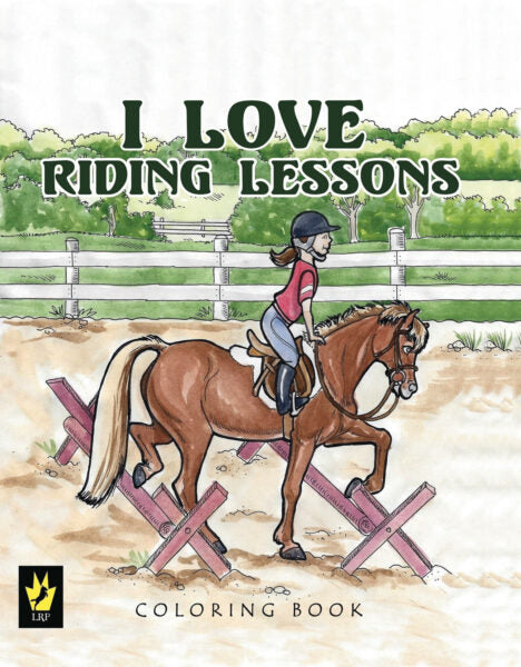 I Love Riding Lessons Colouring Books