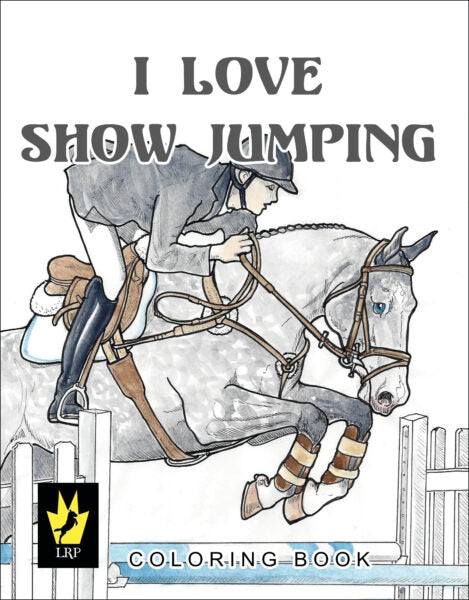 I Love Showjumping Colouring Books
