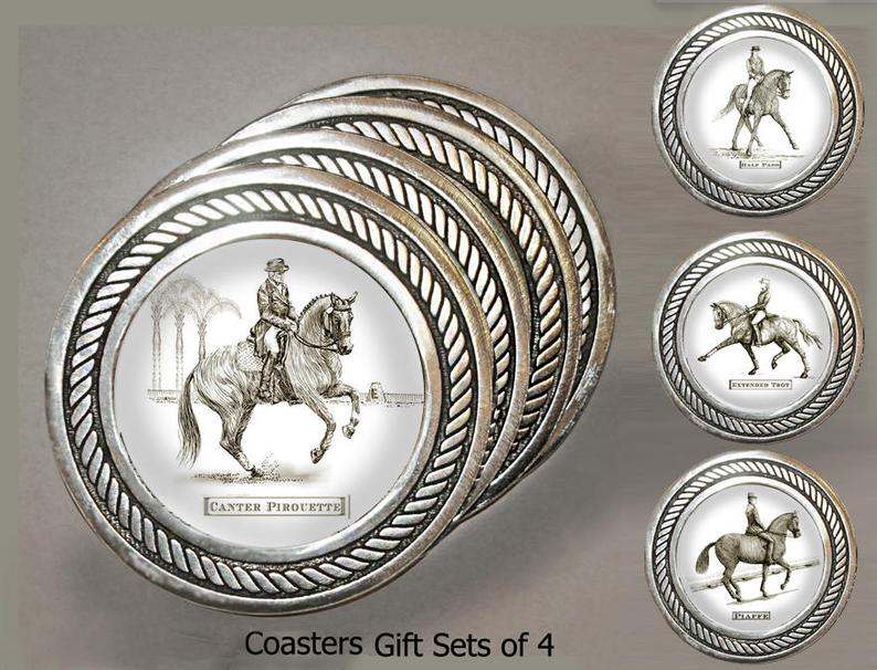Dressage Coaster Set