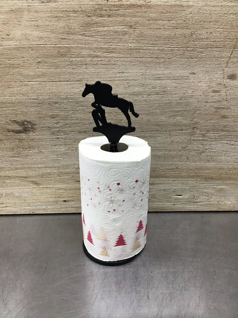Jazz Cross Country Horse Paper Towel Roll Holder