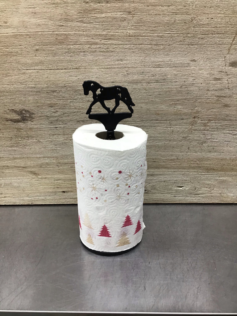 Handsome Is Horse Paper Towel Roll Holder