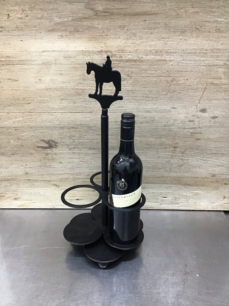 Sidesaddle Horse Wine Wizard