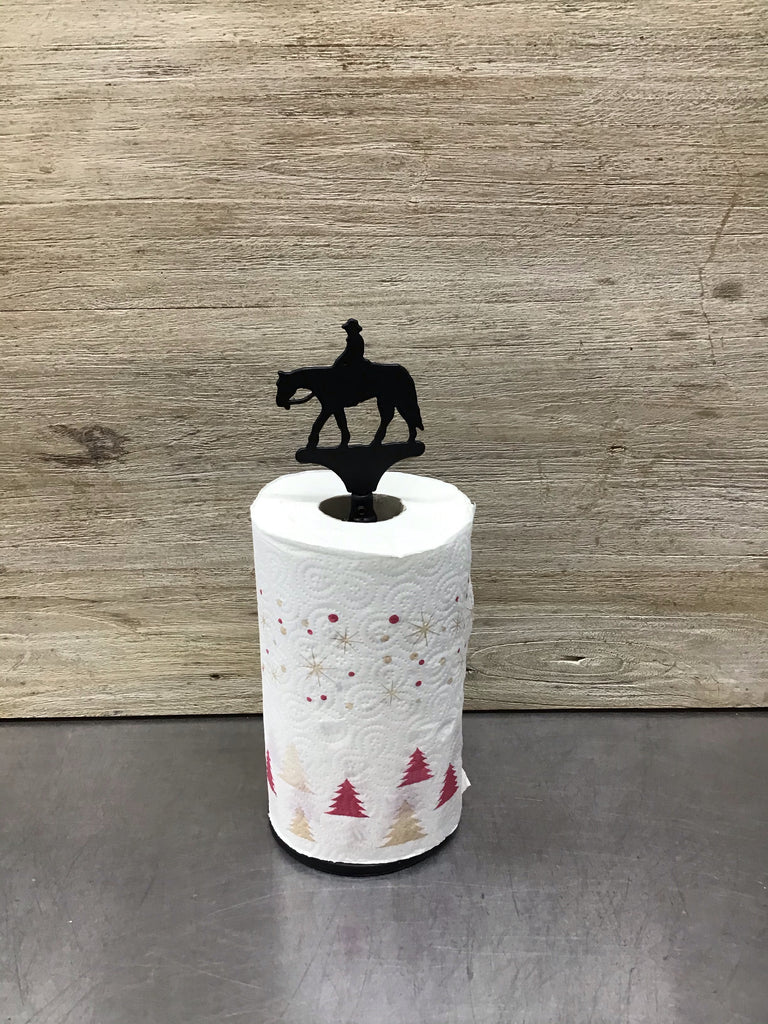 Western Horse Paper Towel Roll Holder