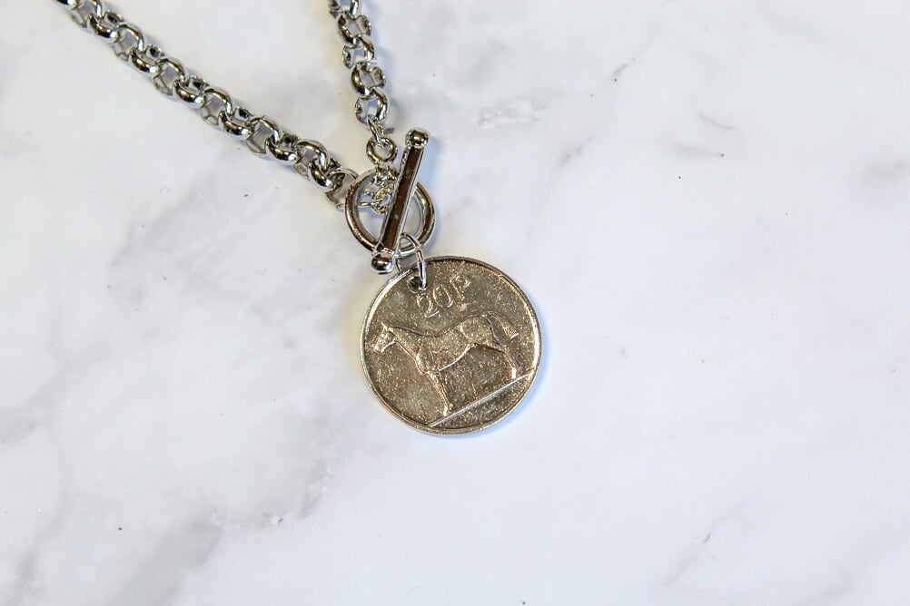20P Irish Coin Necklace