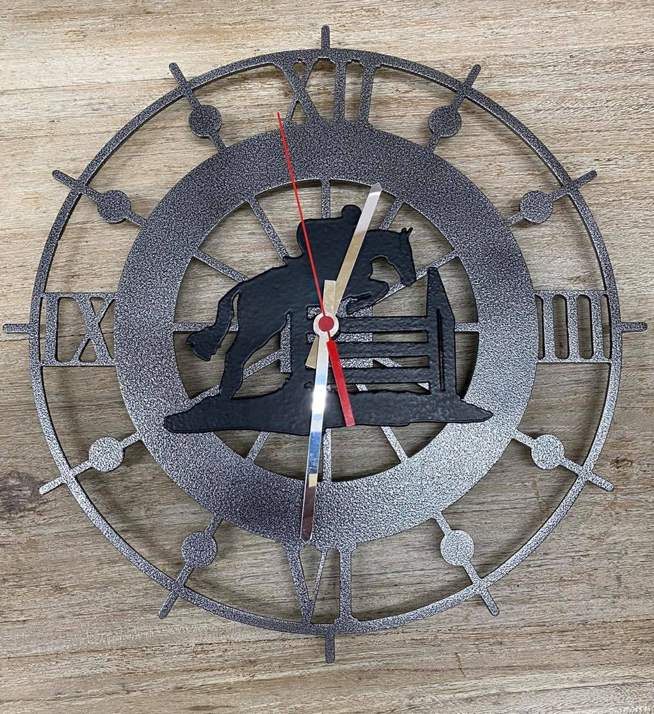 Jumping Wall Clock