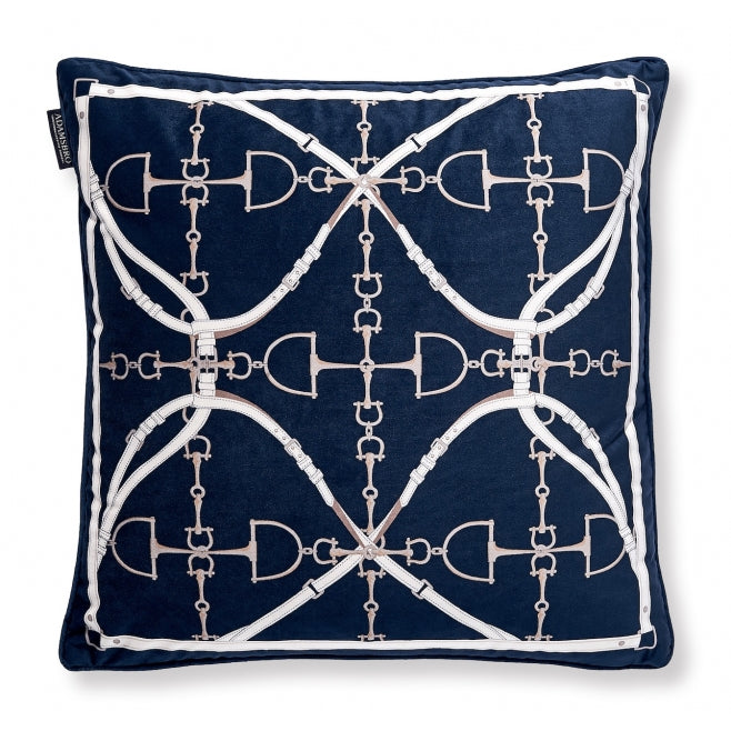 Navy Bit Cushion