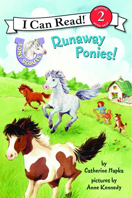 Pony Scout  Books, Level 2