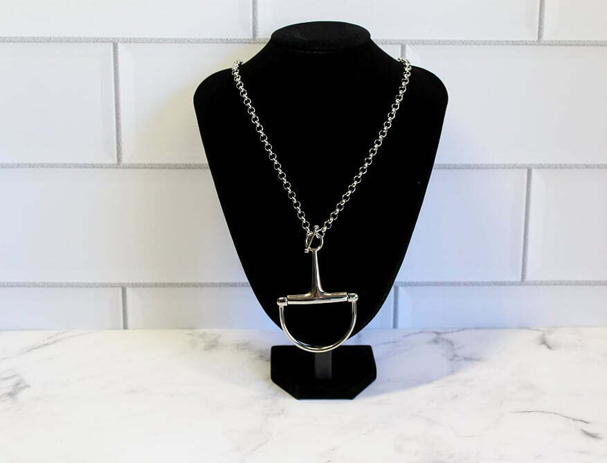 Large Half Bit Necklace