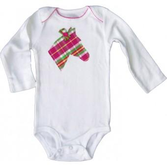 Candy Plaid Infant Body Suit