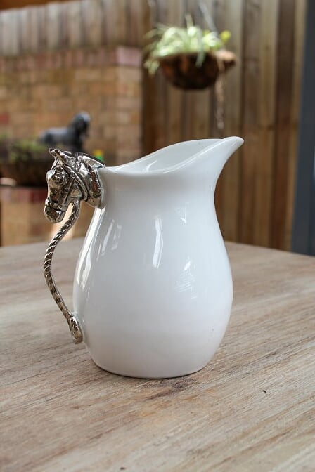 Horse Head Pitcher