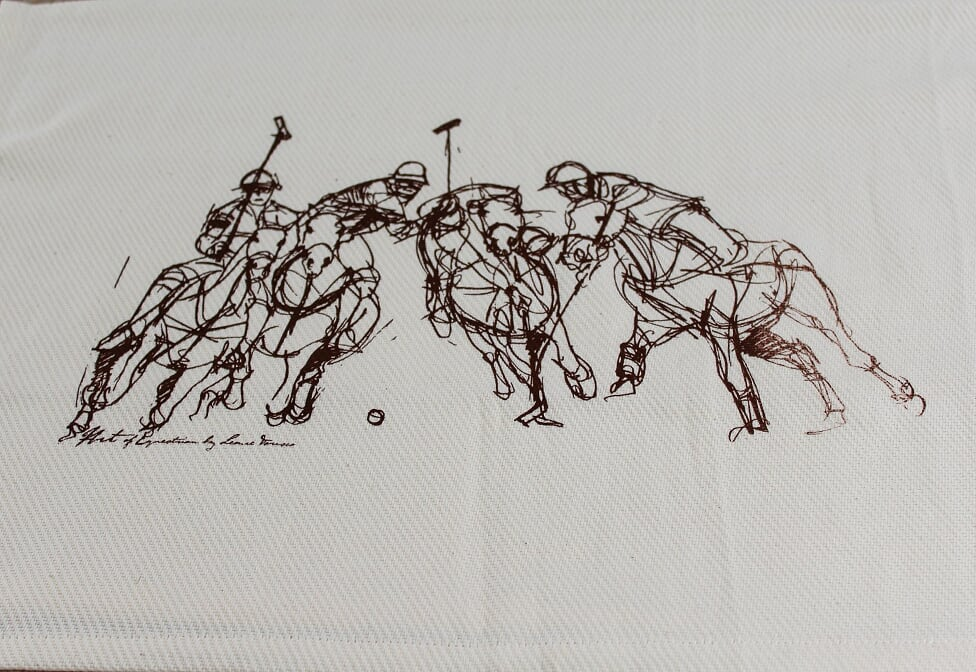 Polo Tea Towel