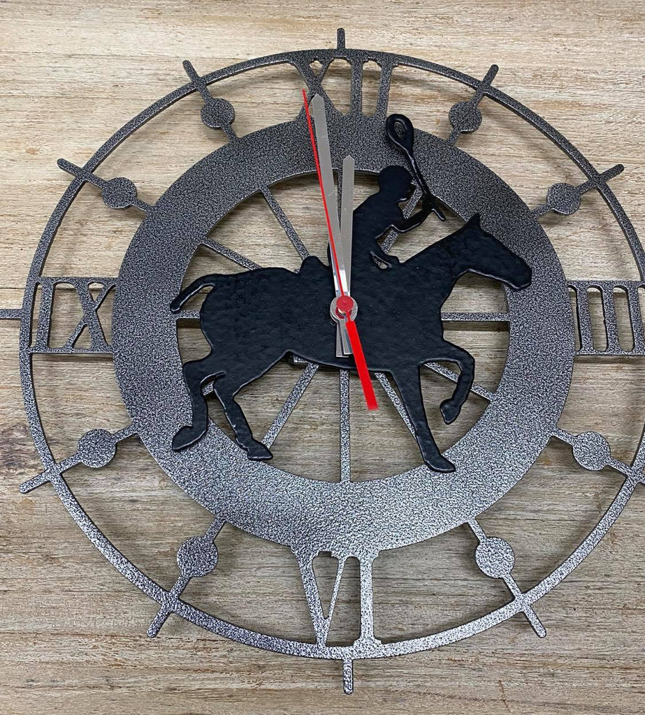 Polocrosse Wall Clock