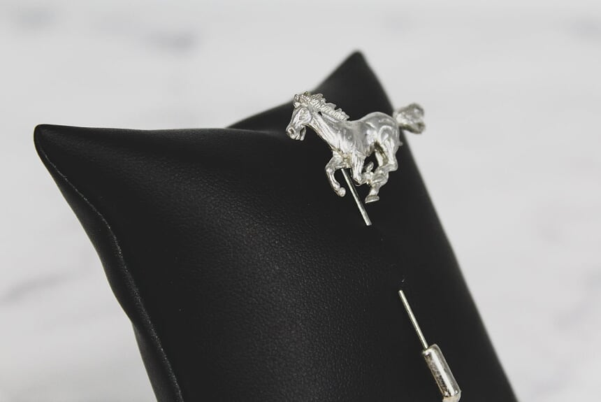Running Horse Lapel Pin