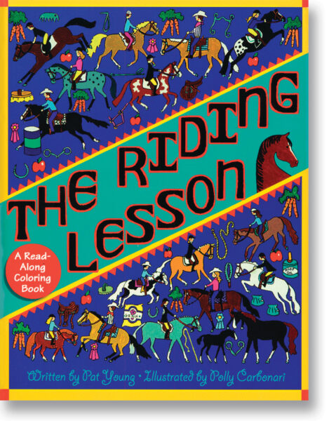The Riding Lesson Colouring Book